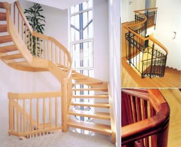 Drei Treppen
